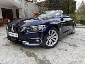 BMW cabrio bérlés budapest