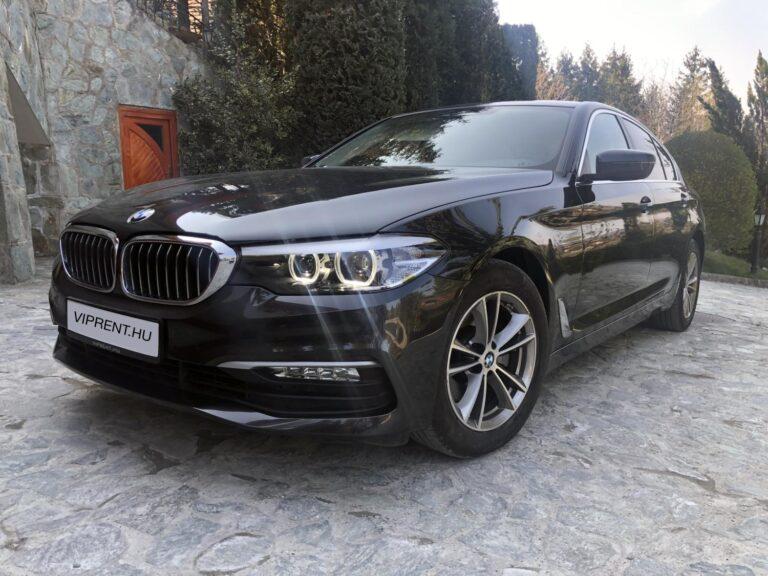 BMW 520 bérlés budapest