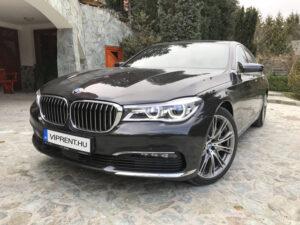BMW 730 bérlés budapest
