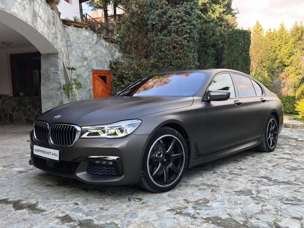 BMW bérlés budapest