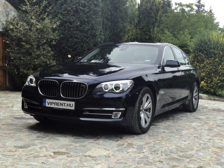 BMW 740 bérlés budapest