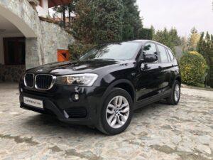 BMW X3 bérlés budapest