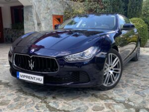 Maserati bérlés budapest