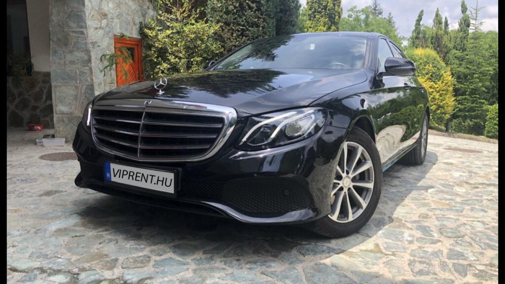 Mercedes e220 bérlés budapest
